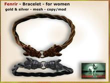 Bliensen + MaiTai - Fenrir - Viking Bracelet for WOMEN