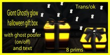 ghostly glow gift box  (LARGE) WITH GHOST POOFER