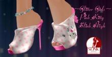 ~~Glitter Girls~~Pink Kitty Slink High Box
