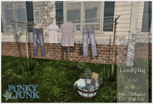 *Funky*Junk* Laundry Day {Boxed}