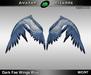 AB Dark Fae Wings Blue