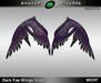 AB Dark Fae Wings Purple