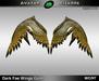 AB Dark Fae Wings Gold