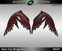 AB Dark Fae Wings Red