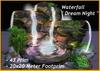 "Waterfall "" Dream Night ""  ( Cave Cavern Grotto )"