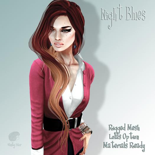 Vanity Hair::Night Blues Demo(MESH)