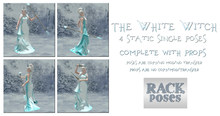 RACK Poses - The White Witch Pose Set