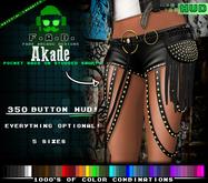 F.A.D. // Akade Studded Shorts - Materials