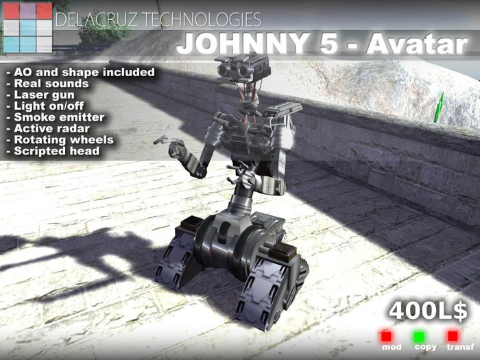 Johnny 5 - Delacruz Technologies