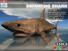 Swimming Shark - Delacruz Technologies