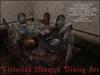 Boudoir Halloween -Victorian Haunted Dining Set