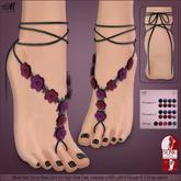 *MUKA* Feetwrap Rosa Dark