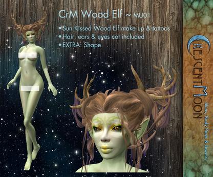 Wood Elf Tattoos