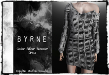 (BYRNE) Gator-DEMO Sweater Dress MESH(BOX)