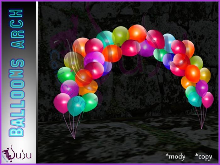 SuSu-balloons arch