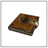 Steampunk Aether Book - Belle Belle Furniture