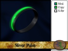 >^OeC^< - Sliver Pulse Bracelet