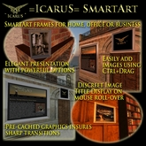 """=IcaruS= SmartArt Slideshow Picture Frame """"Monaco"""" v2.8 - BOX"""