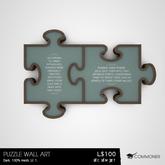 [Commoner] Puzzle Wall Art / Dark