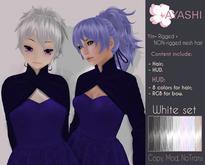 [^.^Ayashi^.^] Yin hair-White set