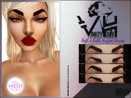 VHTMPC1: SOFT & BOLD ANGLED BROWS - PROMO PACK