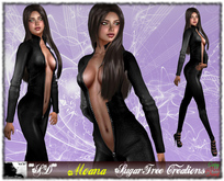 **SD** -Moana ( MESH Outfit ) Dress Catsuit 1.0
