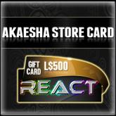 Akaesha's L$500 Store Card Gift Card
