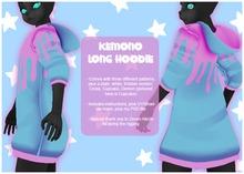 krankhaus - Kemono Long Hoodie