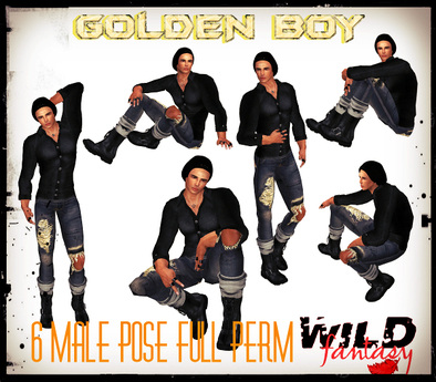 <WF>Golden Boy Pose