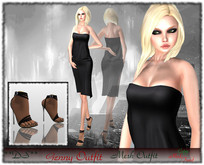 Gift **DS** Genny BLack (outfit) Mesh rigged