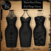 ***arisaris aa58 black pencil dress foto hud