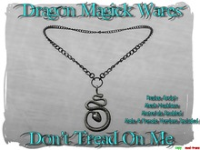Dragon Magick Wares Don't Tread On Me Snake Necklace Mesh