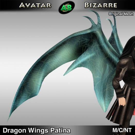 AB Dragon Wings (Estonian Whipwing) Patina
