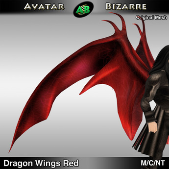AB Dragon Wings (Estonian Whipwing) Red