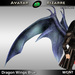 AB Dragon Wings (Estonian Whipwing) Blue