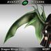 AB Dragon Wings (Estonian Whipwing) Green