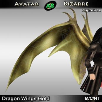 AB Dragon Wings (Estonian Whipwing) Gold