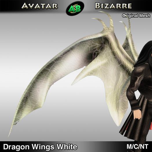 AB Dragon Wings (Estonian Whipwing) White