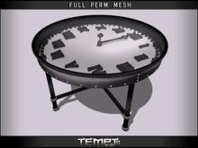 *TEMPTii* CLOCK TABLE MESH - FULL PERM - UPDATED