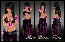 !K&L! Rave Queen Kitty Outfit