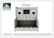 *oUvUo* - Broken beautiful wall ark [mesh]
