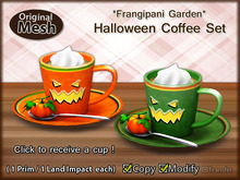 *FG* Halloween Coffee Set_(Giver)