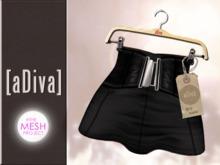 aDiva Highwaist Black #The Mesh Project Applier
