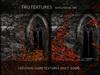 12665: Oct 10 - 25 x Seamless Resurrection Black Gothic Castle 2D Game Textures Set 1