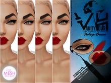 VHTMPC3: VANITY HOUR - VINTAGE DRAMA - LINERS + MATTE RED BONUS