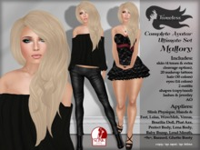 Tameless Complete Female Avatar Mallory Ultimate Set (slink+lolas+phat azz+wowmeh+loud mouth+baby bump & more)