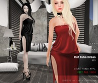 Lumiere Cut Tube dress RED [with Lolas Tango applier]