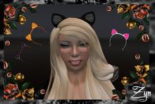 Zyn ~ Kitty Headbands Pack ~