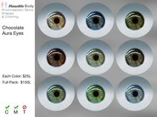 Chocolate Aura Eyes - 9 Colour Package