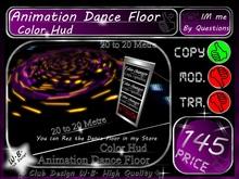 Animation Dance Floor with Color Hud * 20/20 Metre COPY VERSION